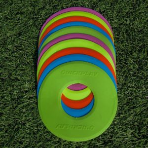 Flat Markers Soccer Training