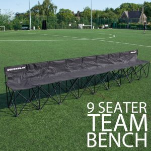 9 seater fold out team bench
