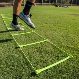 No Tangle Speed Ladder Soccer Skills and Fitness