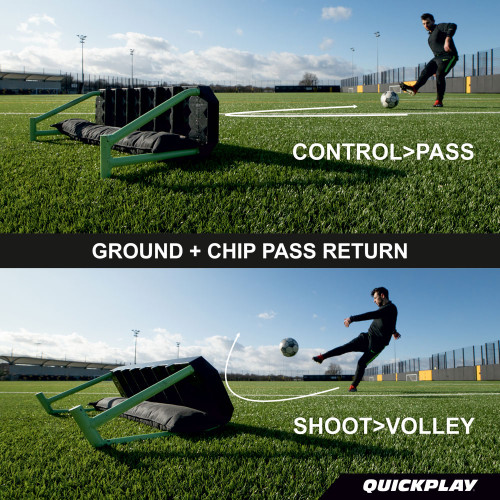 REPLAY STATION PASS AND SHOOT